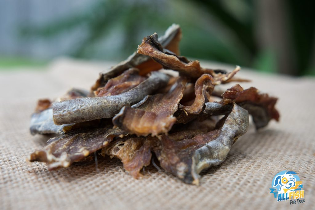 Dried Fish Dog Treats: Fish Bites